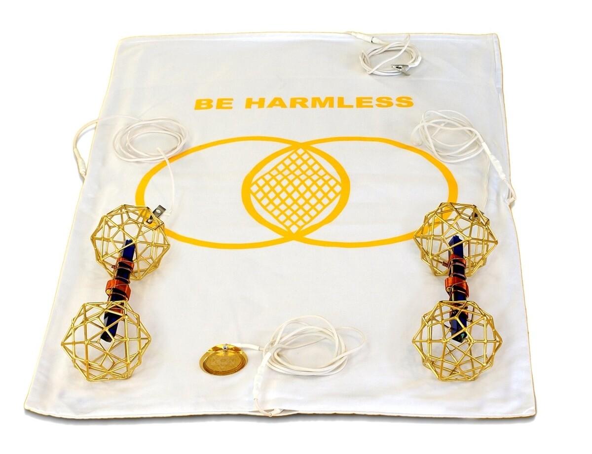 Buddha Maitreya the Christ Metatron Mat System with Christ Consciousness Vajras - half-length