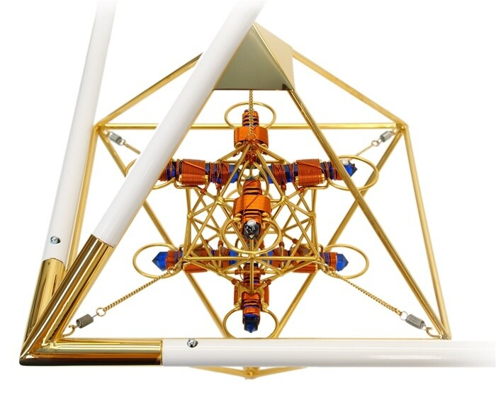 Buddha Maitreya the Christ Pyramid Octahedrons - Maitreya Solar Cross