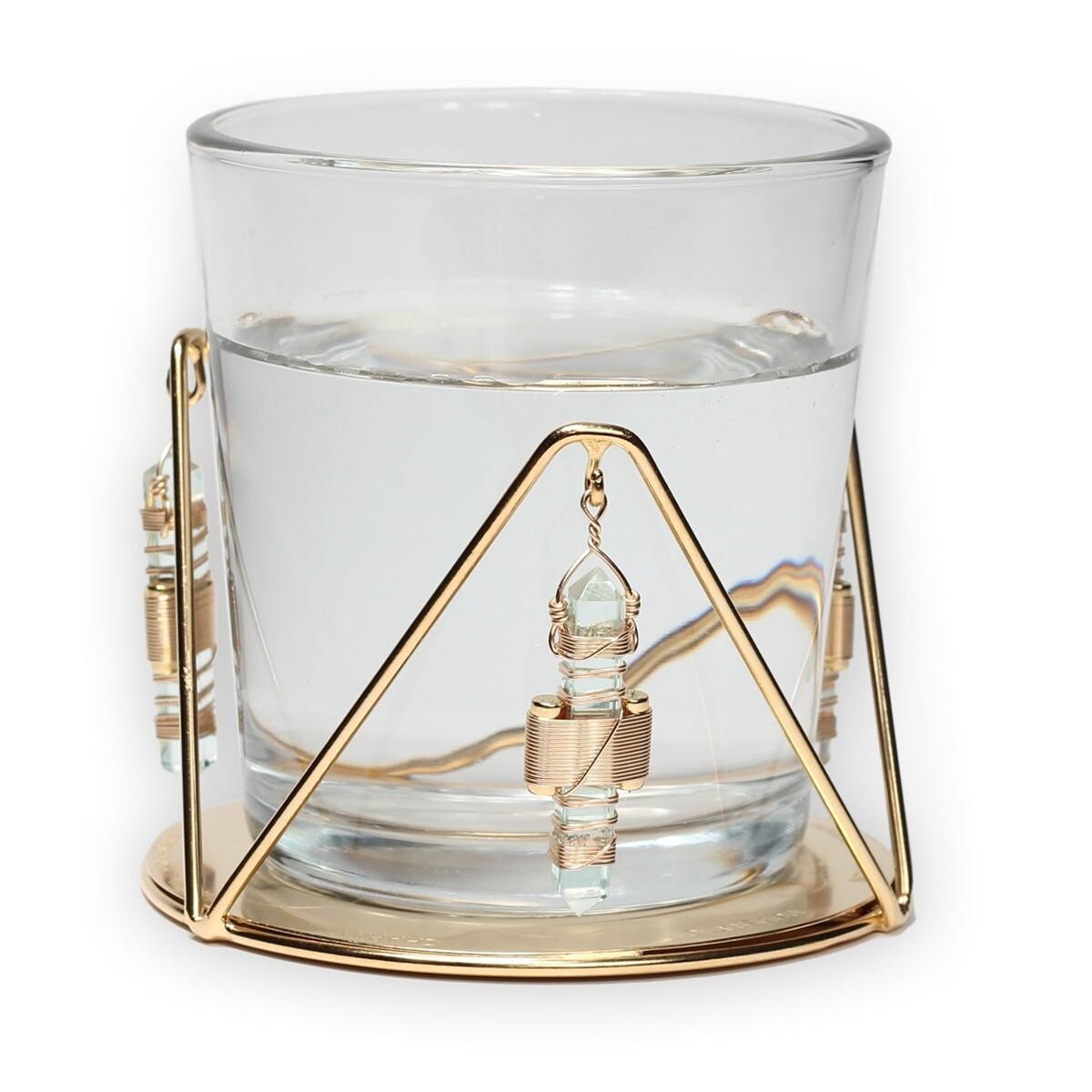 Buddha Maitreya the Christ Water Resonator - Aqua