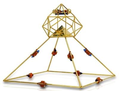 Buddha Maitreya the Christ Shambhala Solar Ascension Head Pyramid
