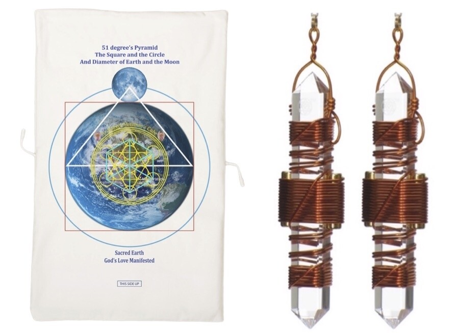 "Buddha Maitreya the Christ Archangel Metatron's Cube Half Mat with 3.5"" Etheric Weavers - half-size"