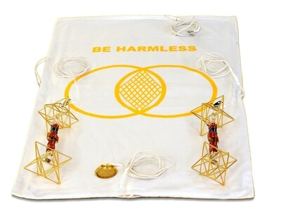 Buddha Maitreya the Christ Metatron Mat System with Earth Vajras - half-length