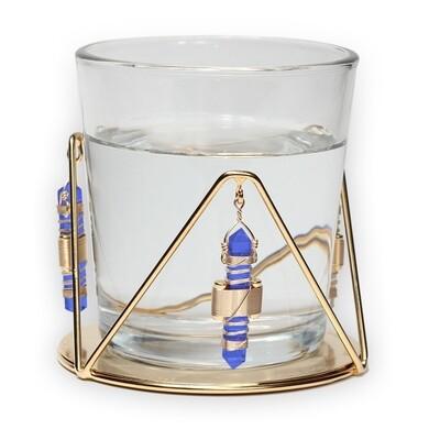 Buddha Maitreya the Christ Water Resonator - Blue