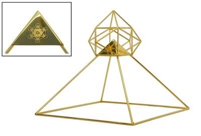 Buddha Maitreya the Christ Solar Ascension Head Pyramid