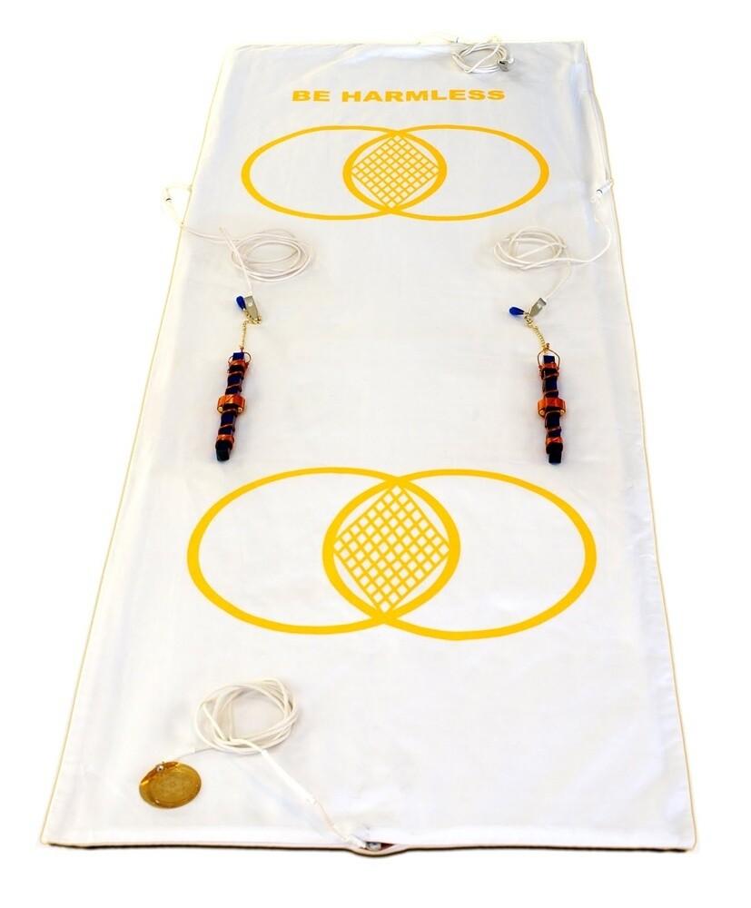 "Buddha Maitreya the Christ Metatron Mat System with 7"" Buddha Maitreya the Christ Etheric Weavers - full-length"