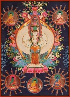 Avalokitesvara  - Poster Print