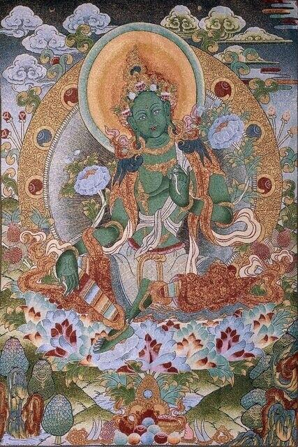 Green Tara - Poster Print