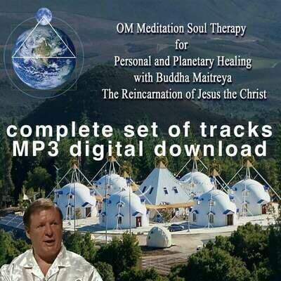 Buddha Maitreya the Yogi Christ Soul Therapy Meditation Invocations and OM Meditation - MP3 Download
