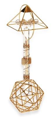 Buddha Maitreya the Christ Shambhala Christ Consciousness Ascension Vajra - Gold-Filled Wire