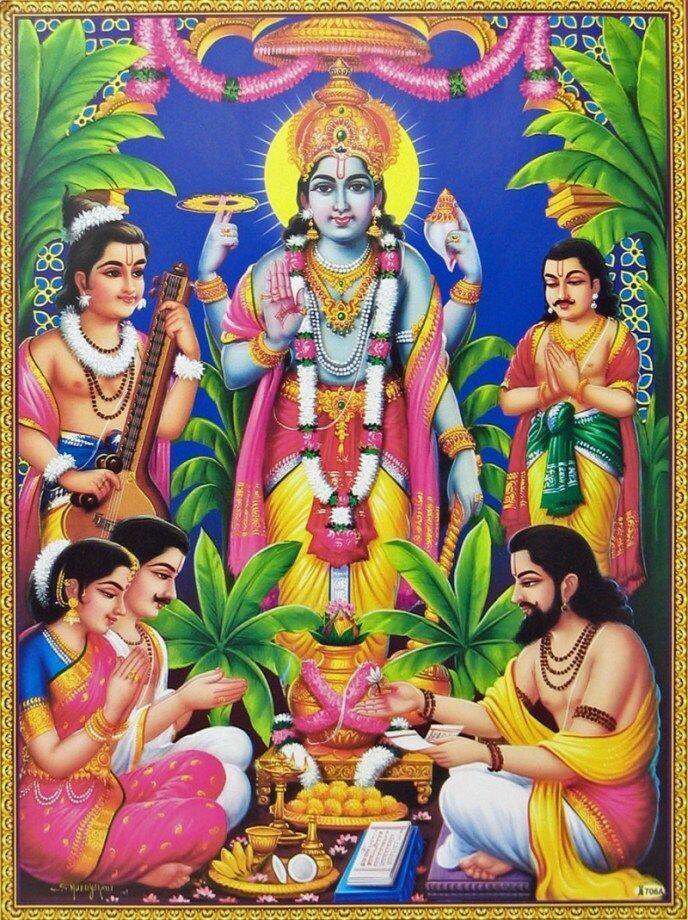 Sri Satyanarayana Swami Vratam on Devotee Chosen Day