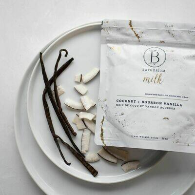Coconut + Bourbon Vanilla Mineral Milk Bath