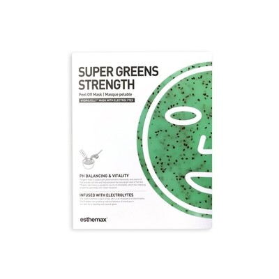 Super Strength Greens HydroJelly Mask Kit (includes 2 masks)