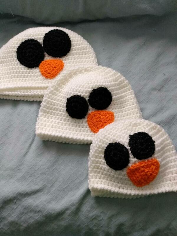 Snowman Hat Large