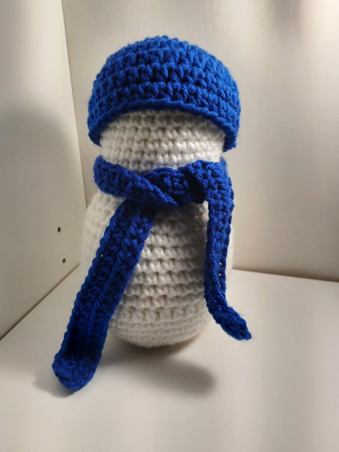 Lightly scented snowman Blue