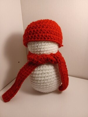 Lightly scented snowman Red