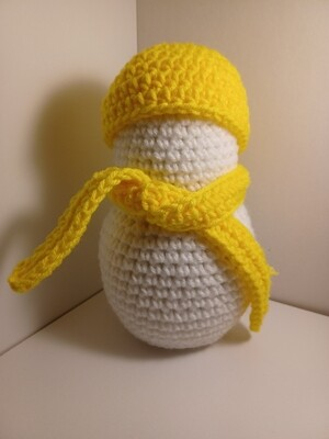 Lightly scented snowman Yellow