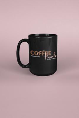 Coffee & Florals Mug
