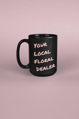 Floral Dealer Mug