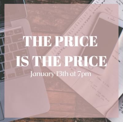The Price is The Price Webinar