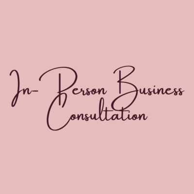 In-Person Business Consultation