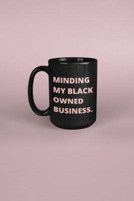 Black Owned Business Mug