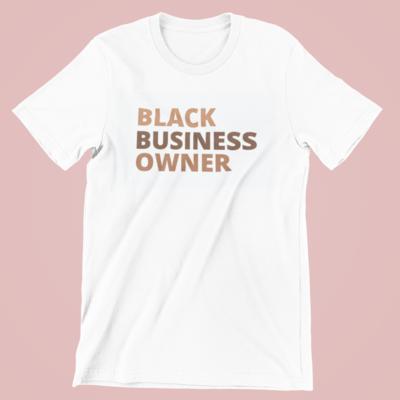 Black Business Owner Tee