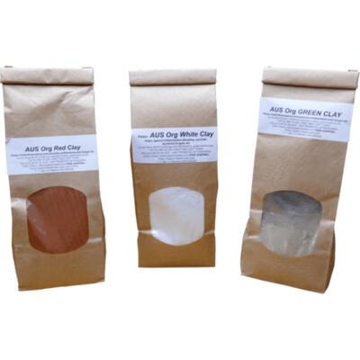 Certified Organic Australian Clay