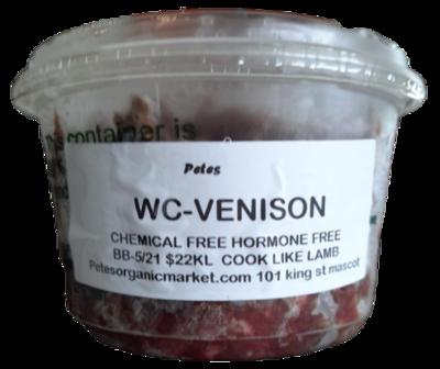 Certified Organic Venison