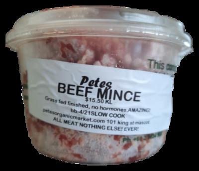 Certified Organic Beef Mince