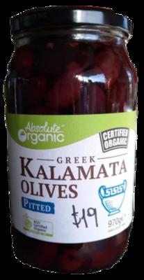 Certified Organic Kalamata Olives