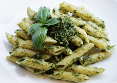 Penne sauce Pesto