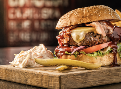 Le J Burger avec frites