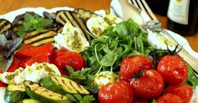 Antipasti de légumes de saison