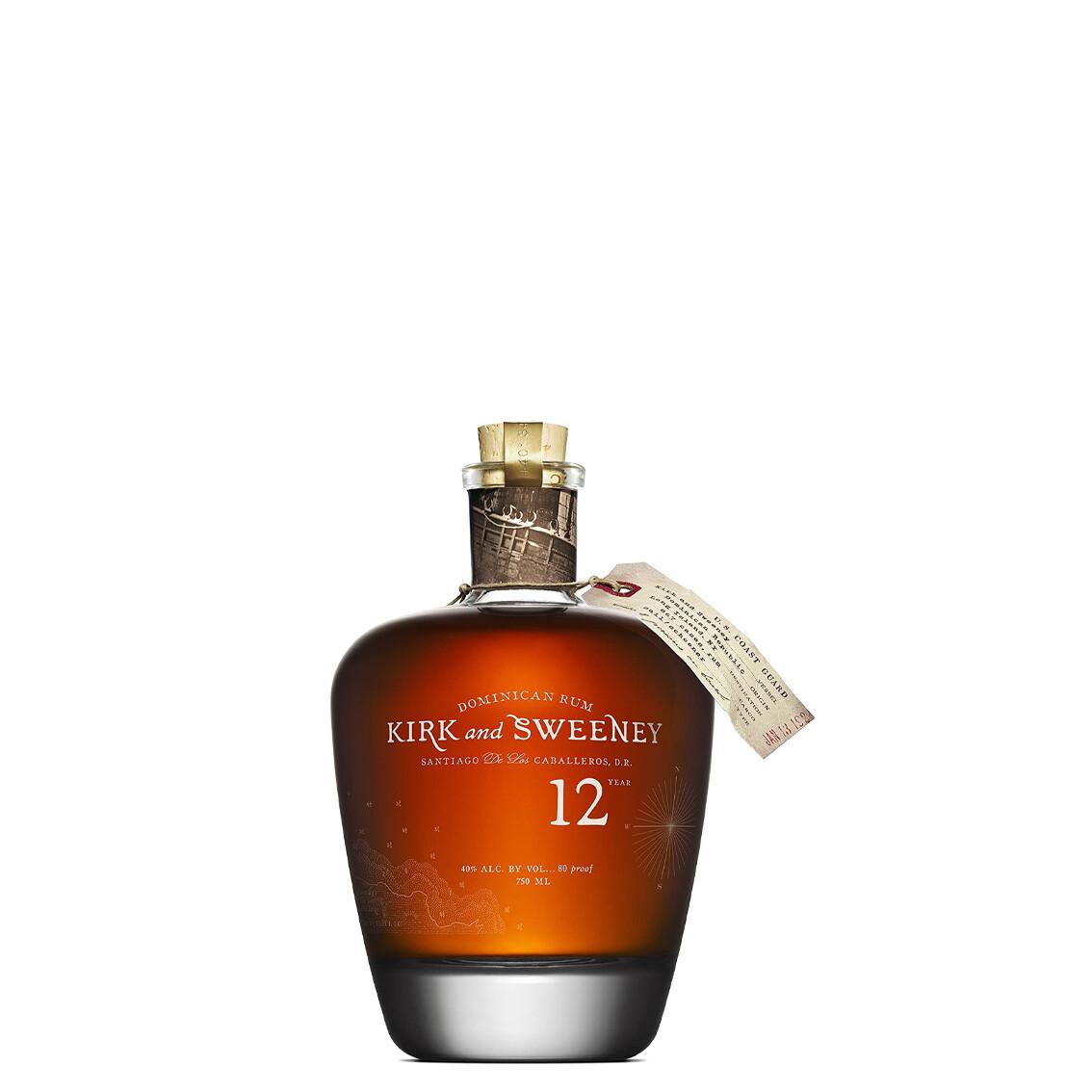 Rum 12 year di Kirk and Sweeney
