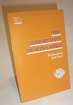 The Immortality of Man's Spirit - 80 pages. Paperback.