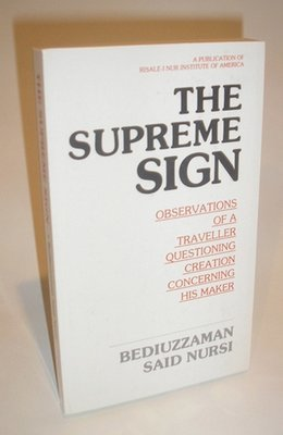 The Supreme Sign - 187 pages. Paperback.