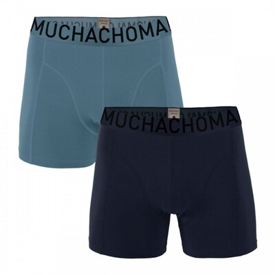Muchachomalo SOLID1010-327 Dark blue/light blue