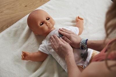 Erlernen der Ayurveda Babymassage via LiveZoom START 2.12.2020