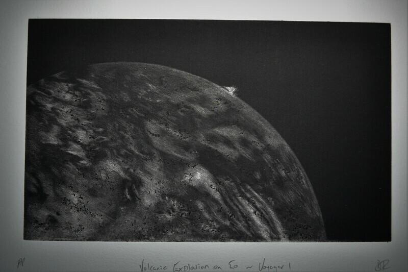 Volcanic Explosion on Io