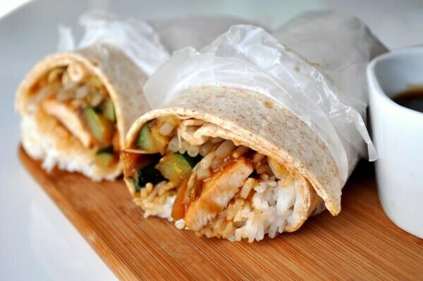 Teriyaki/Curry Chicken Wrap