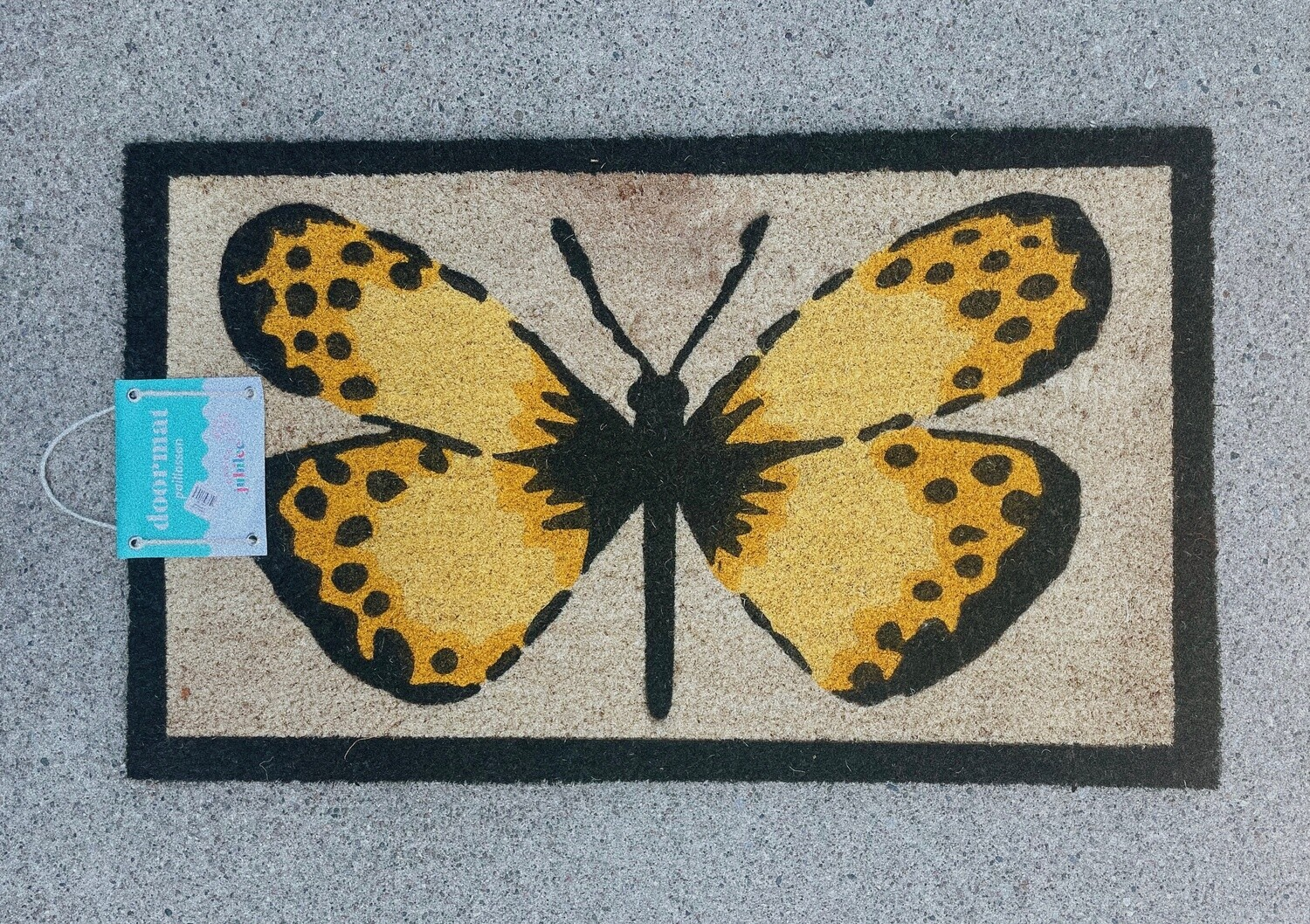 Butterfly Welcome Mat