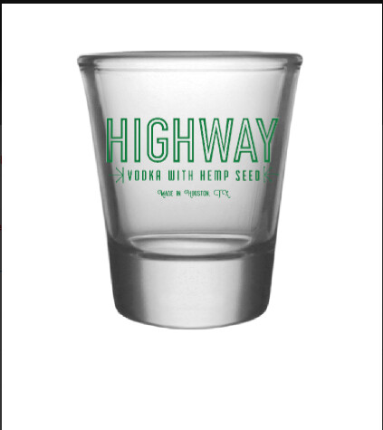 Highway Vodka Shot Glass