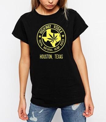Highway Logo Black T-Shirt - Women