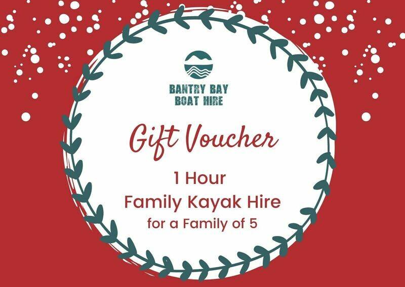 1 Hour Family Kayak Hire Voucher