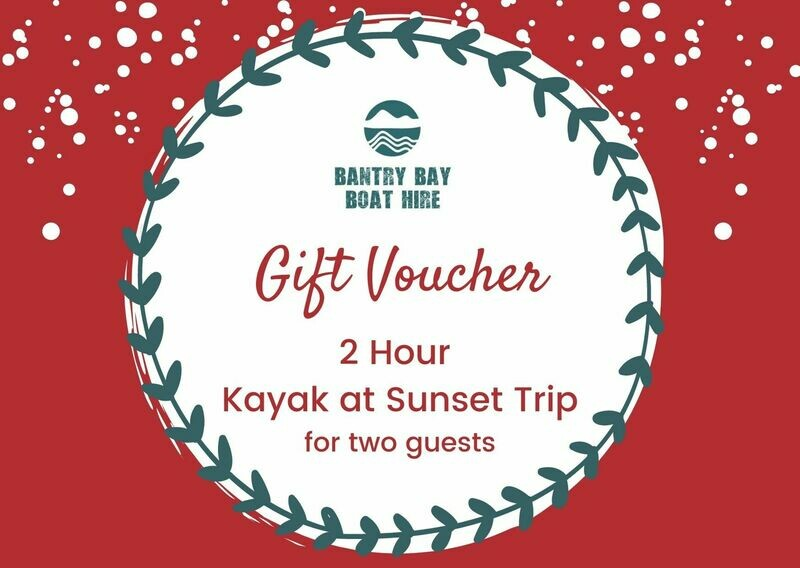 Kayak at Sunset Gift Voucher