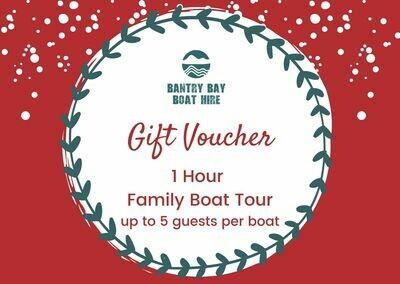 1 Hour Family Boat Tour Voucher