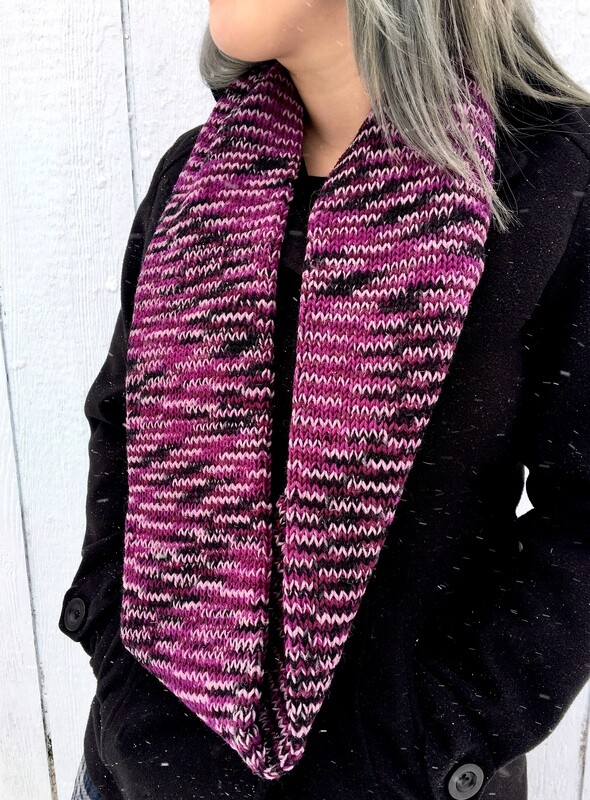 Adult Wool Infinity Scarf