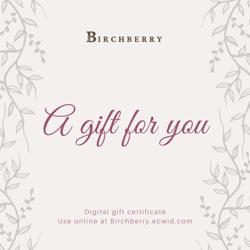 Birchberry Gift Certificate