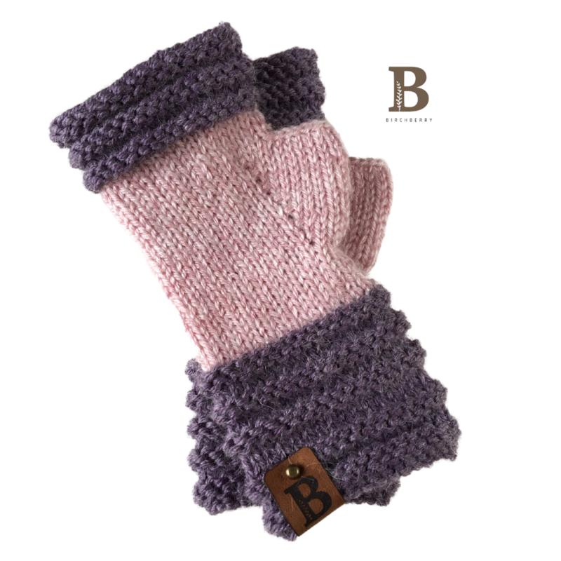 Eira Fingerless Gloves - Adult size