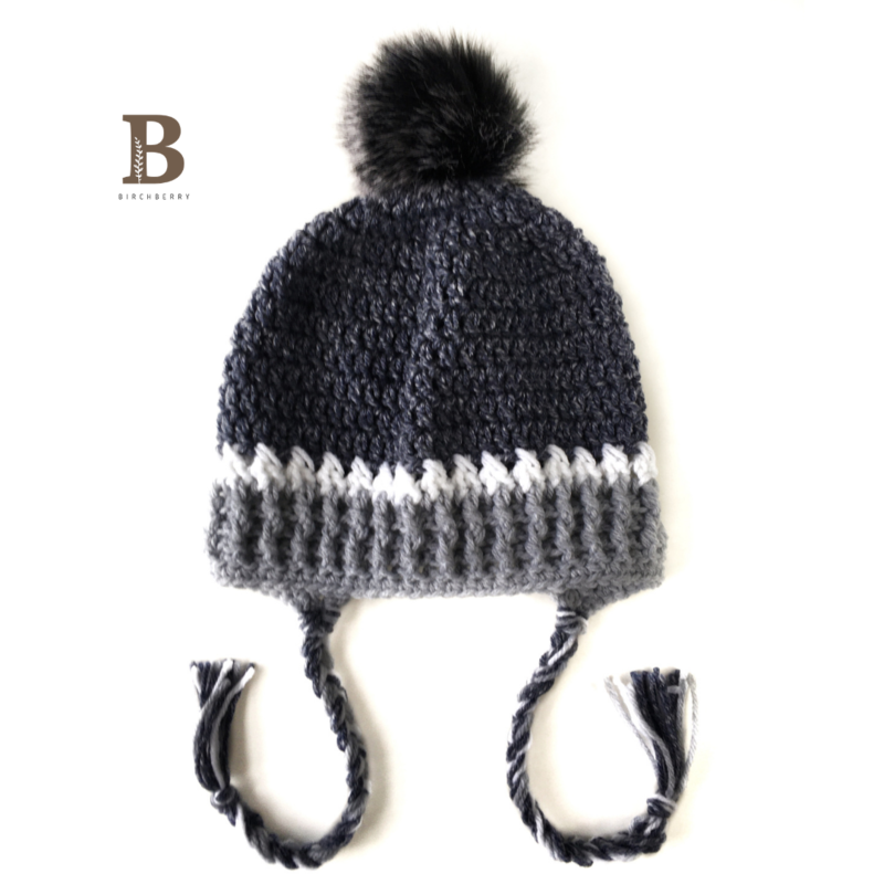 Orlo Slouch Beanie - Child Size